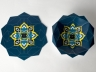 Miri Mizrahi | Iran Israel Pattern Paper Plates