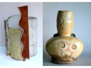 Ceramics by Marcus O'Mahoney & John Higgins עבודות של