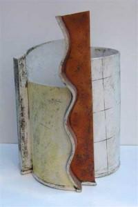 ceramic by John Higgins עבודת קרמיקה של