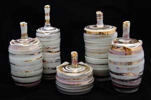 קדרות מתקדמים | פורצלן | רני גילת | Wheel Throwing - Porcelain | Rani Gilat