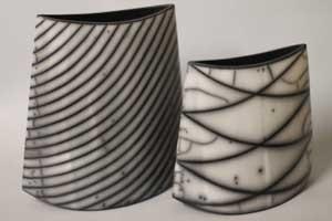Firing – Black and white with Naked Raku | Simha Even Chen