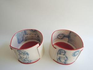 אמנית קרמיקה. יוצרת כלים שימושיים ודקורטיביים באבניים ומלוחות חומר