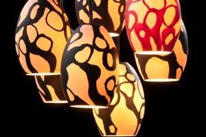 Cast Porcelain Ceiling Lights | Gila Ben David | Ofir Zmudjak | מנורות תקרה מפורצלן | גופי תאורה ביציקה | גילה בן דוד | אופיר זמודזיאק