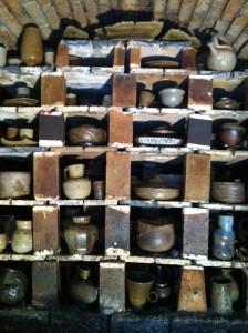 מראה פנים תנור האנאגמה של מאיר מוהבן, 2012, צילום: מאיר מוהבן