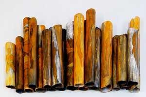 שריפות עישון | עישון בתנור חשמל | יסודות | שמאי גיבש | Smoke firing in an electric kiln – Shamai Gibsh
