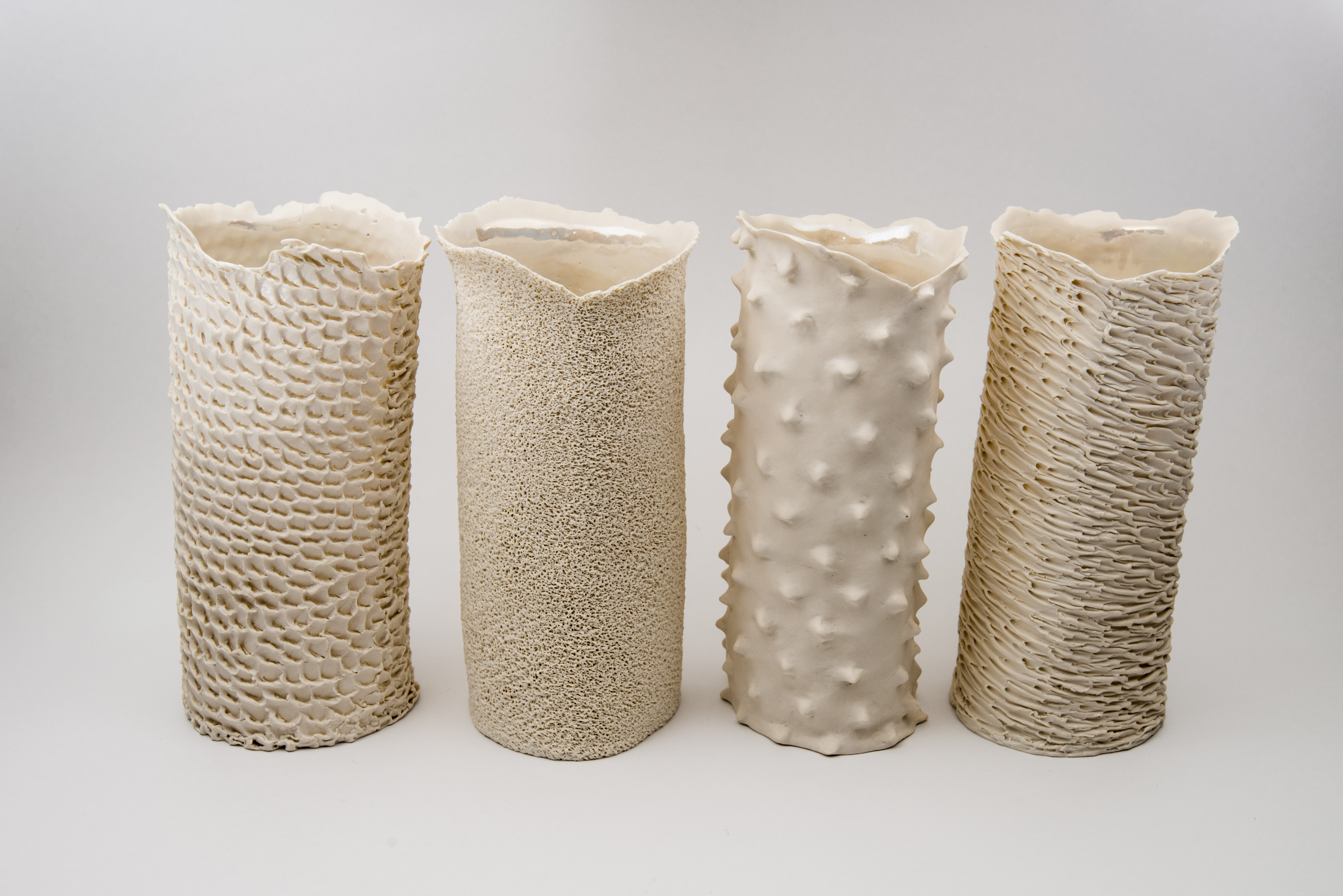 Hand Building | Porcelain and Paper Clay | Einat Cohen