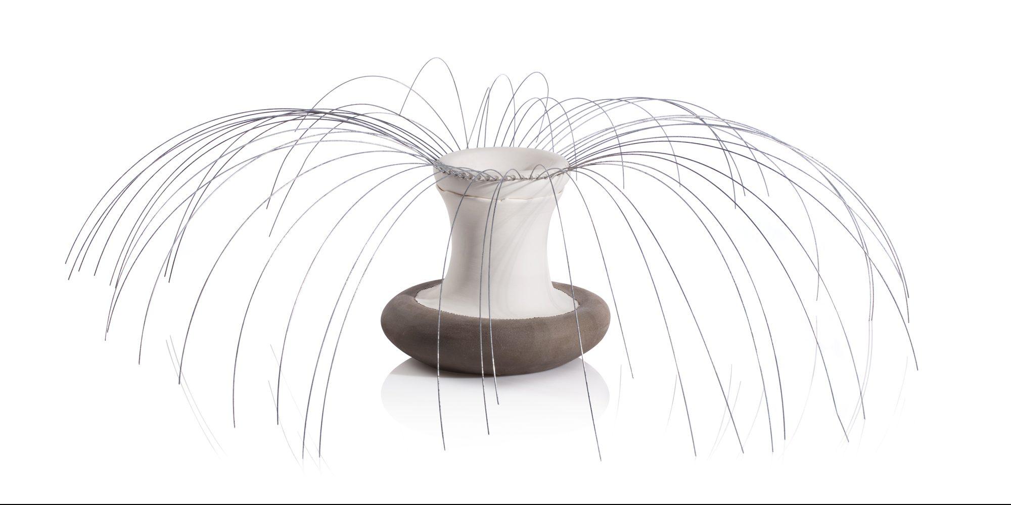 Intermediate Wheel Throwing/ Porcelain Bowls / Gilit Ronen Levin