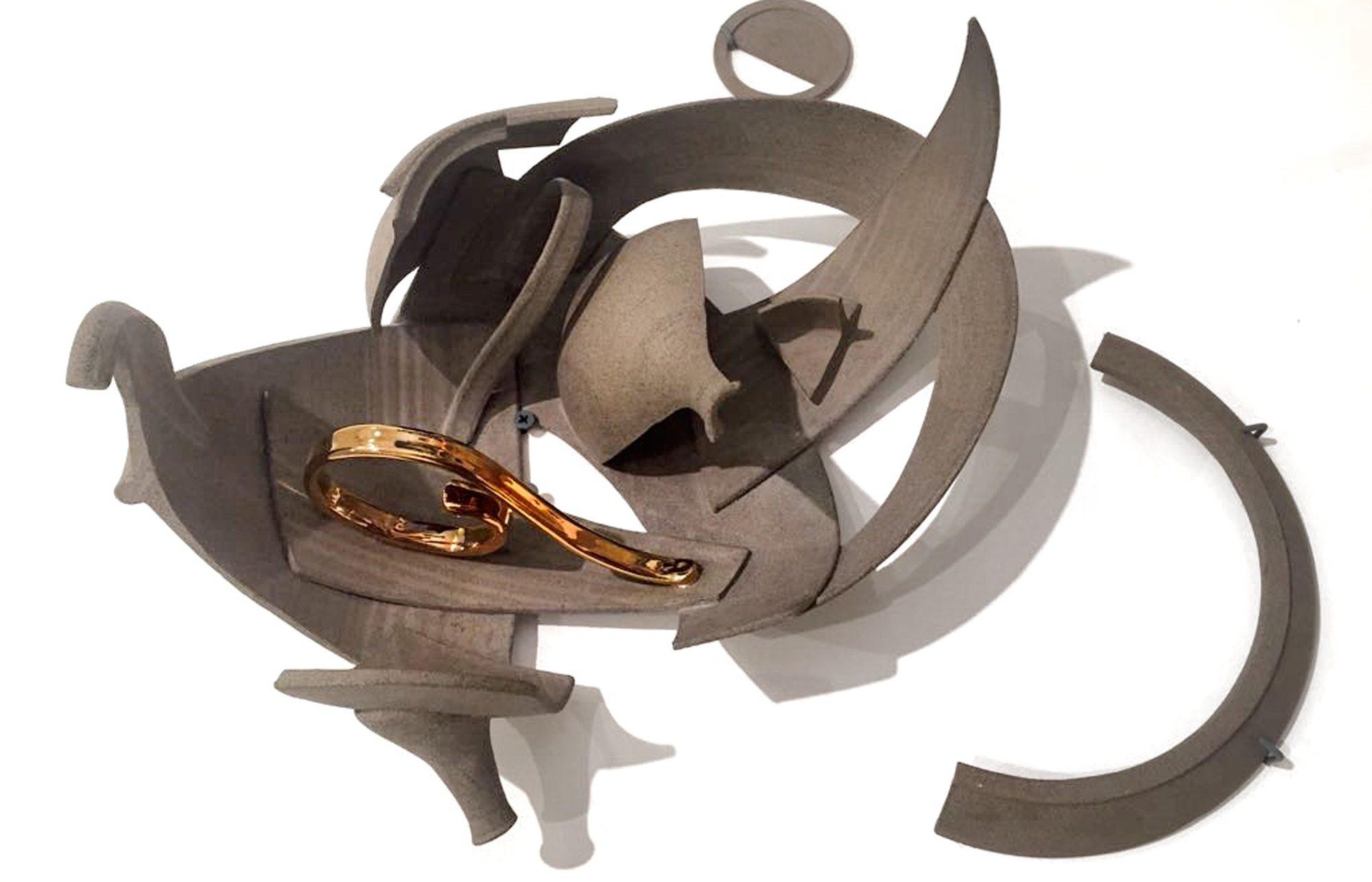 Intermediated Wheel Throwing / Wheel Thrown toSculptural Object / Dikla Moskovitz