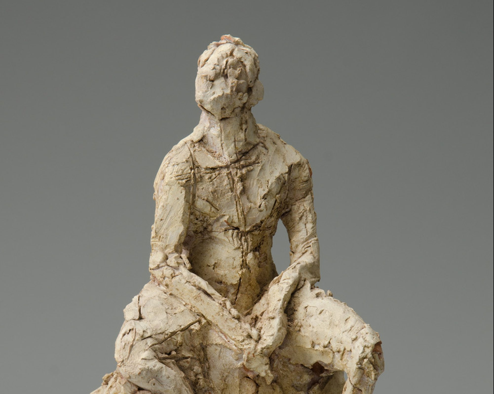 Figurative Sculpture with a Model / Avner Levinson
