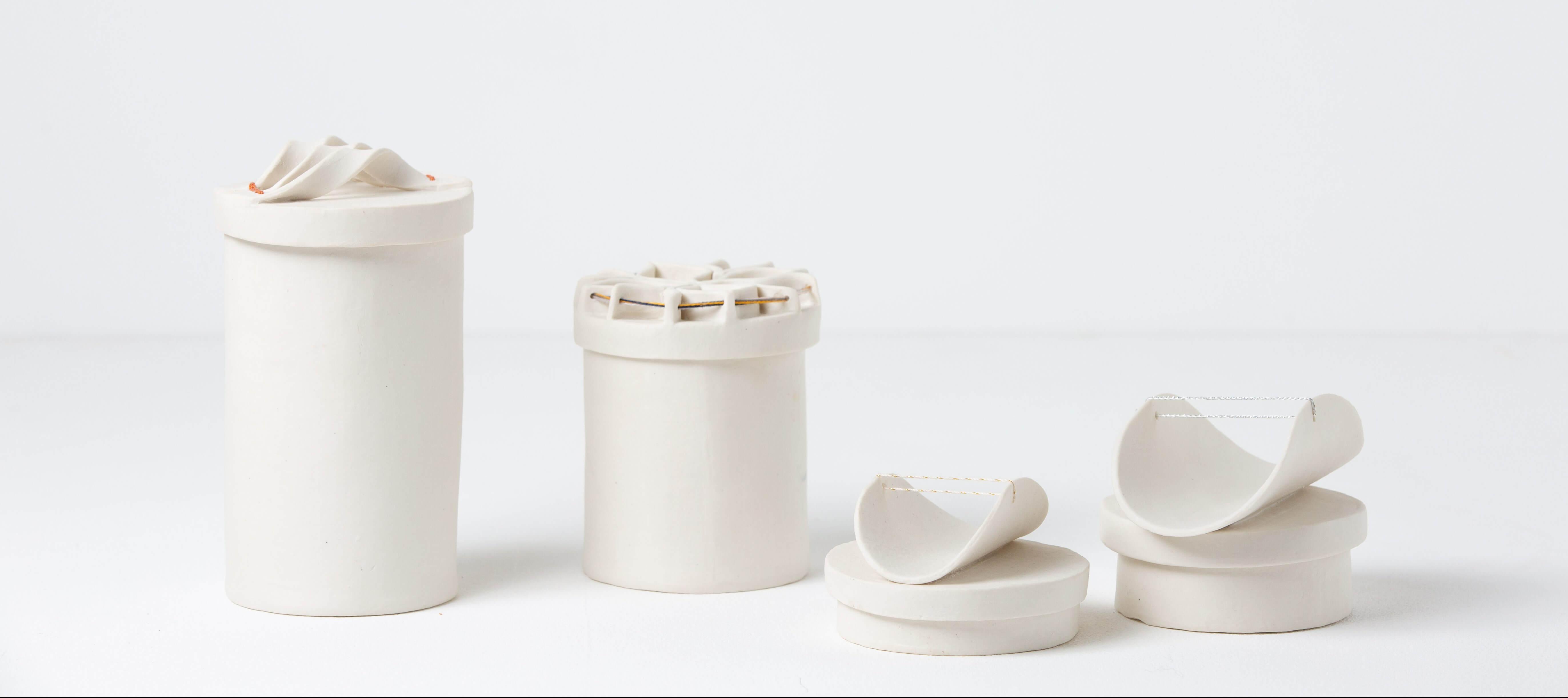 Intermediate Hand Building / Porcelain / Eliya Levi Yunger