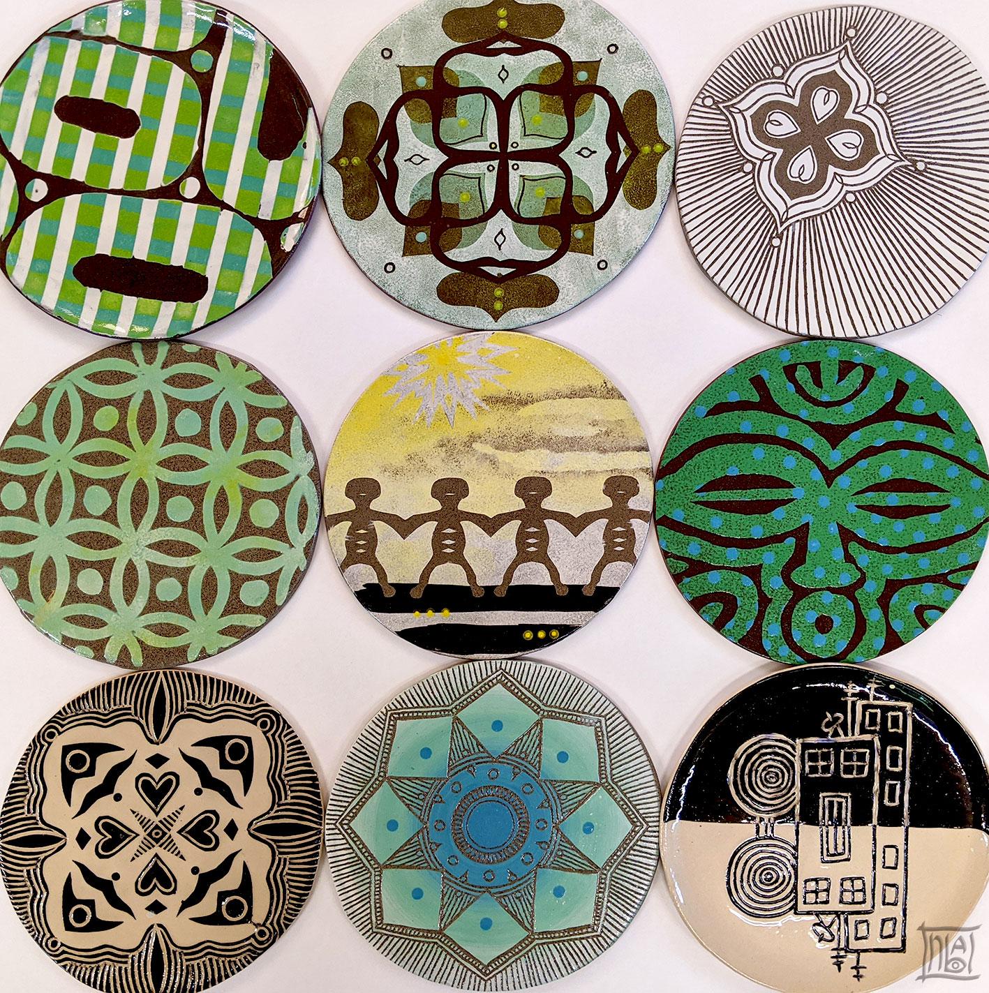 פני שטח / צבעוניות וחומר / ענבל קרמן מוסנזון